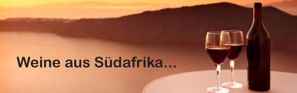 Weine aus Südafrika...
